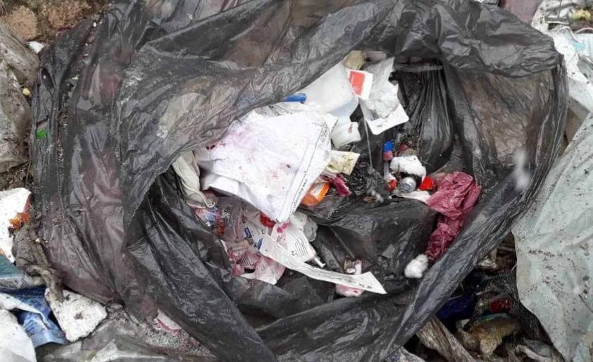 Свалка со львовским мусором на Житомирщине / фото t.me/operativeukr