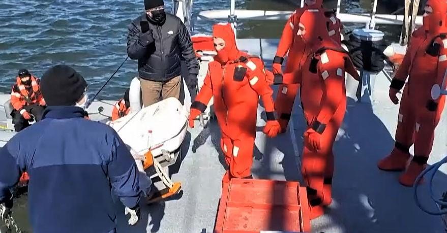 """Украинские моряки осваивают американские """"Айленды"""" / скриншот"""