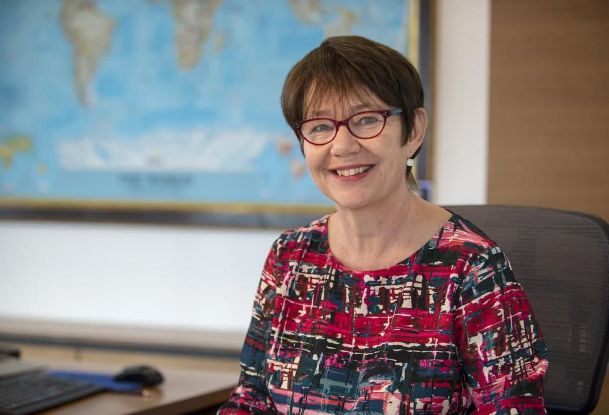 Odile Renaud-Basso became EBRD head in October 2020 / Photo from EBRD's press service