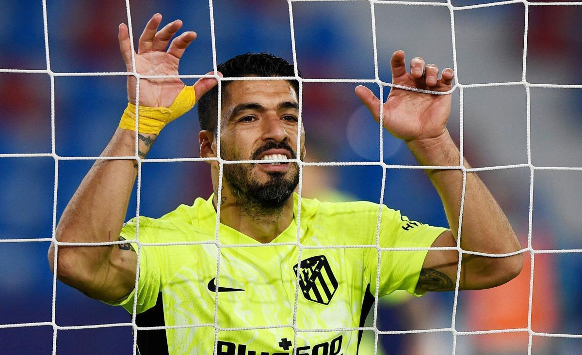 Луис Суарес в этом сезоне соревнуется за Золотую бутсу Ла Лиги / фото REUTERS
