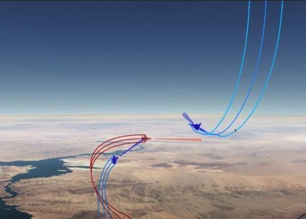 В США искусственный интеллект испытали воздушным боем/ фото DARPA