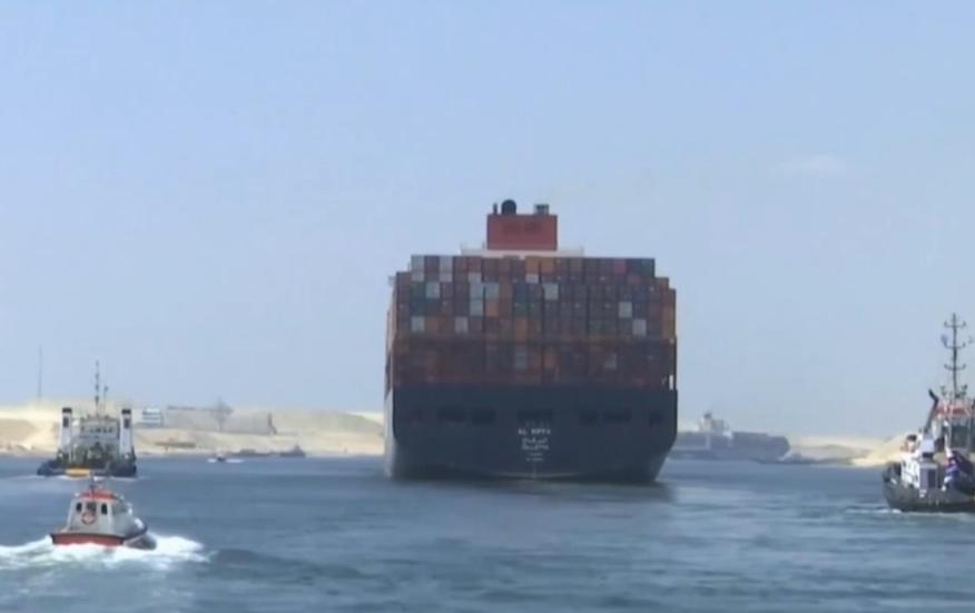 Корабль 400 метров длиной, 60 метров - в ширину и рассчитан на 200 тысяч тонн груза / Скриншот ТСН.ua