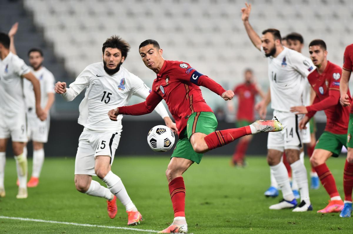 Португалия обыграла Азербайджан благодаря автоголу / фото REUTERS