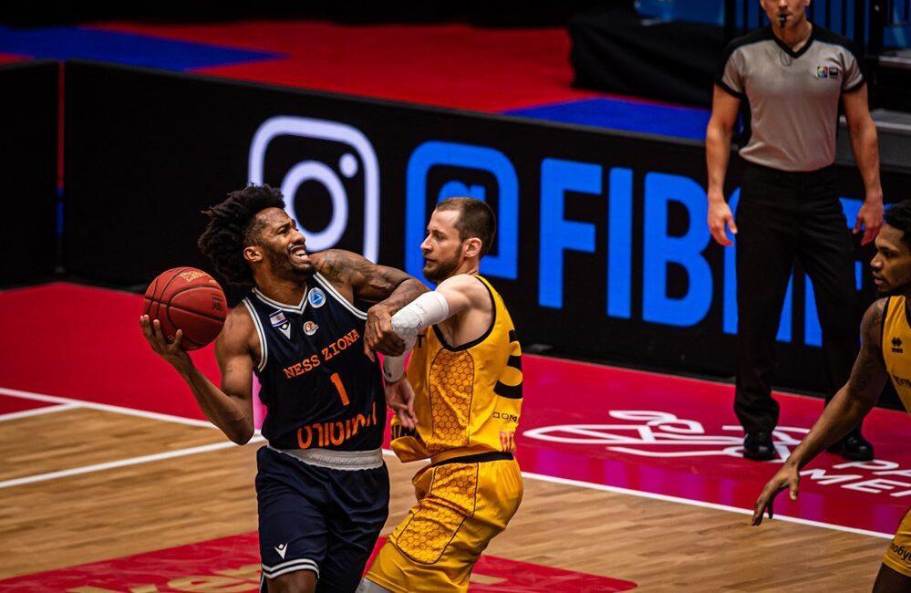Киев-Баскет проиграл израильскому клубу / фото kyiv-basket.com.ua/