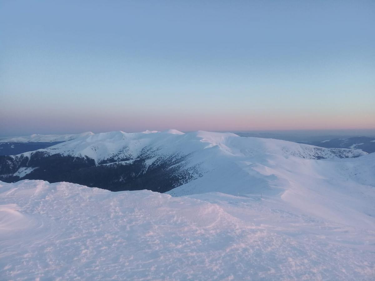 На Чорній горі встановилася ясна погода / Фото facebook.com/chornogora.rescue112