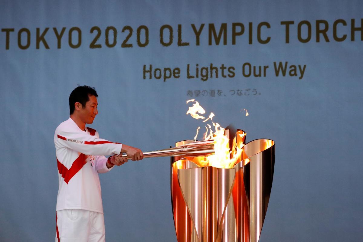 Олимпийский огонь / фото REUTERS