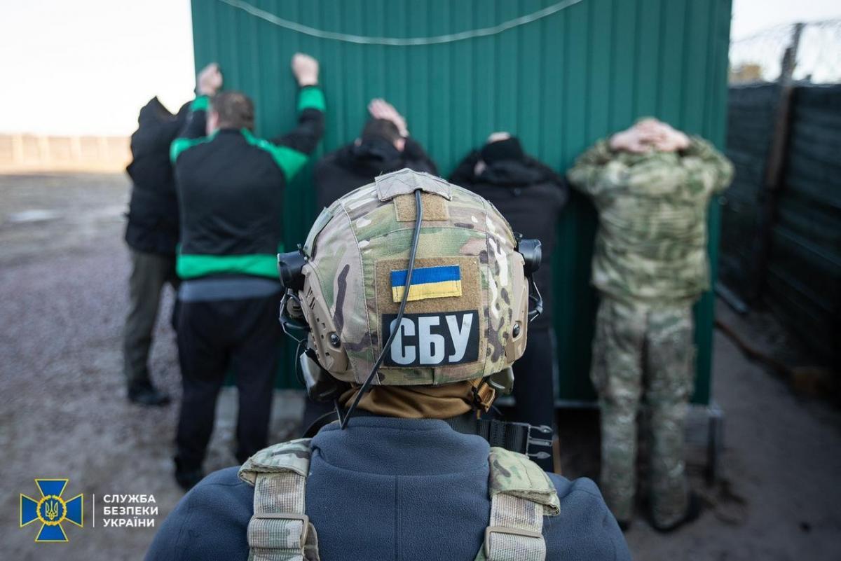 """По делу о """"частной армии Семенченко"""" уже шесть подозреваемых – СБУ / фото пресс-службы СБУ"""