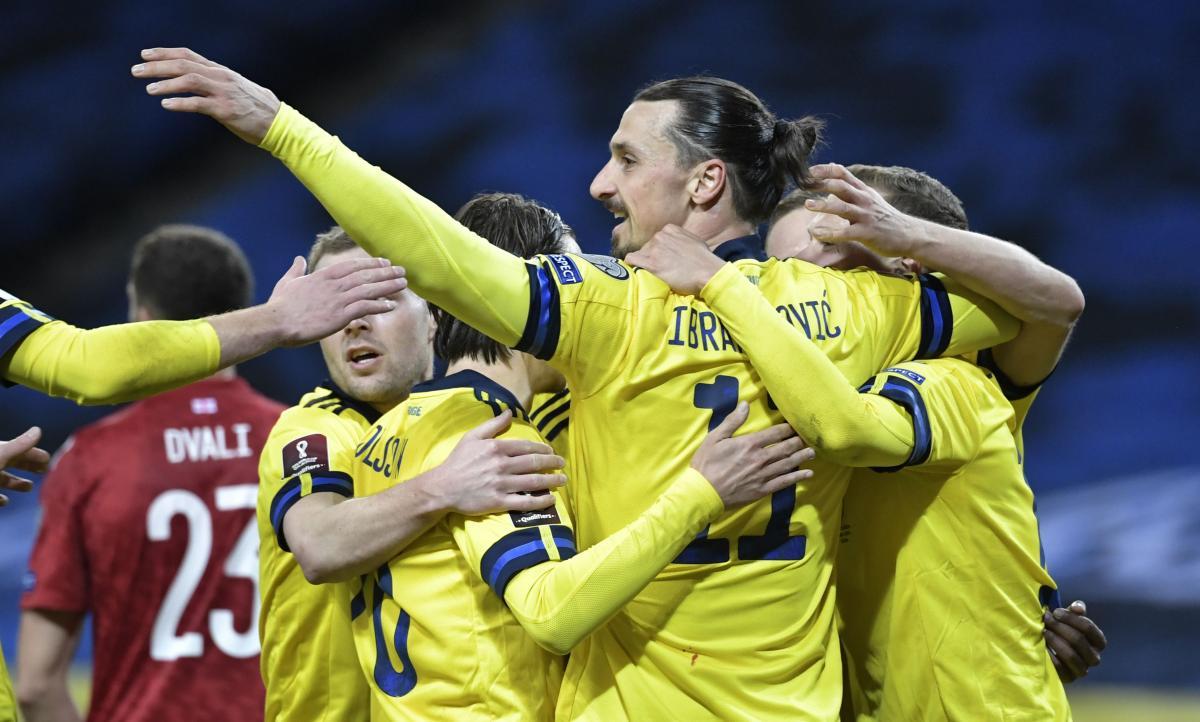 Златан Ибрагимович сыграл за Швецию впервые с 2016 года / фото REUTERS