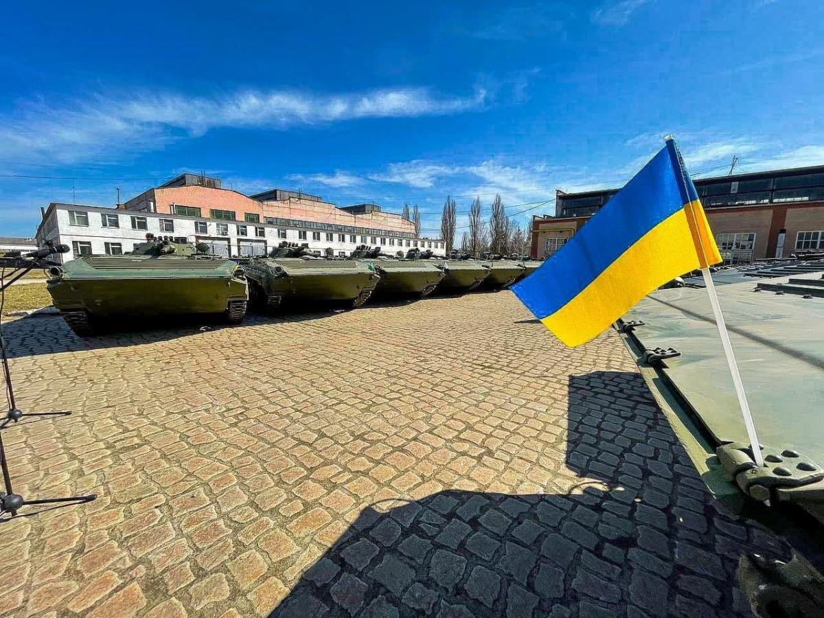 26 БМП-1АК готовы к передаче ВСУ / фото Укроборонпром