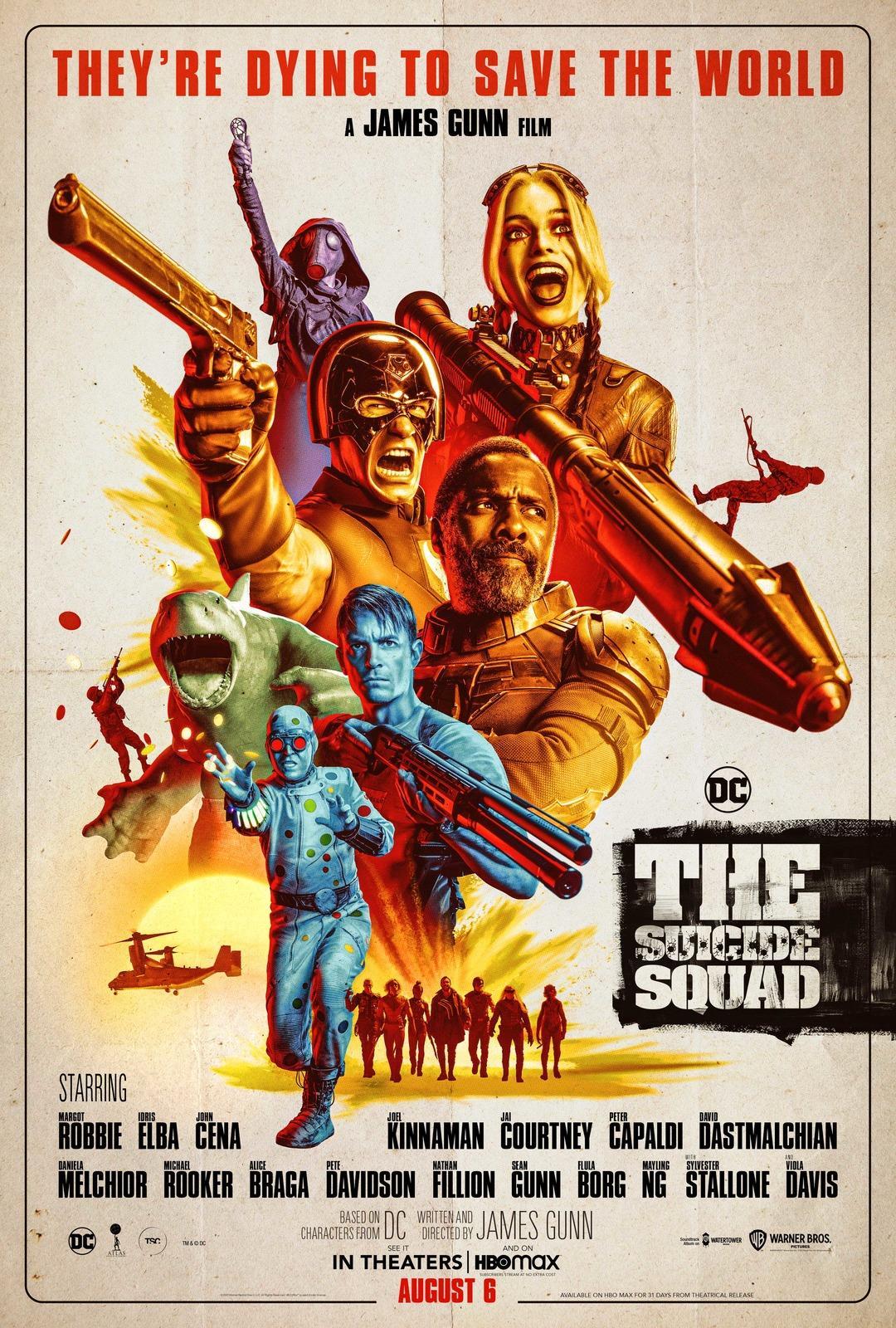 Новый постер к фильму «Отряд самоубийц: Миссия навылет» / фото twitter.com/JamesGunn