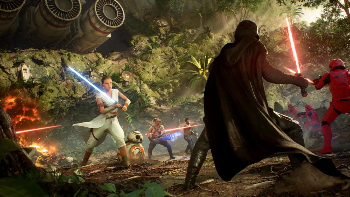 Star Wars Battlefront II / фото Electronic Arts