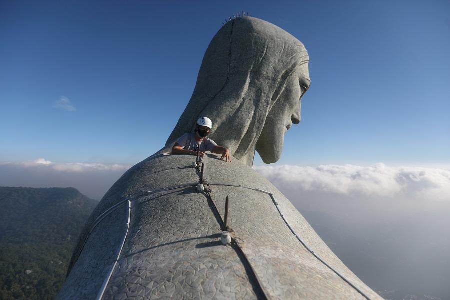 СтатуяХриста в Рио / фото REUTERS