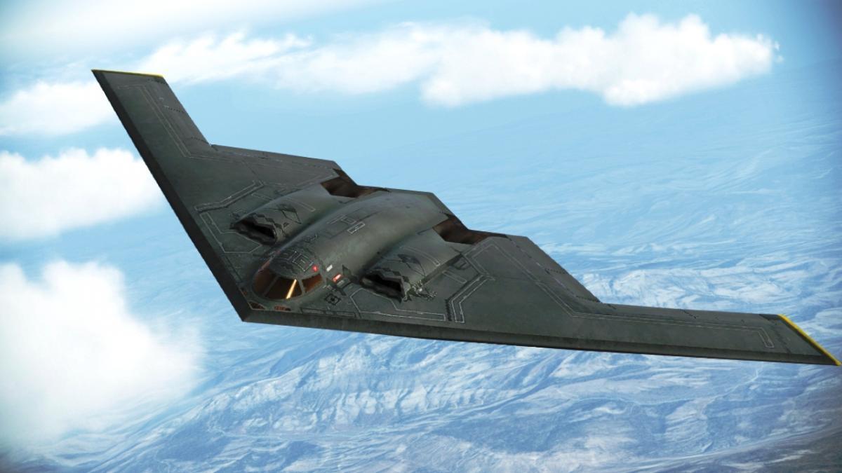 Бомбардировщик B-2 Spirit / фото acecombat.fandom.com