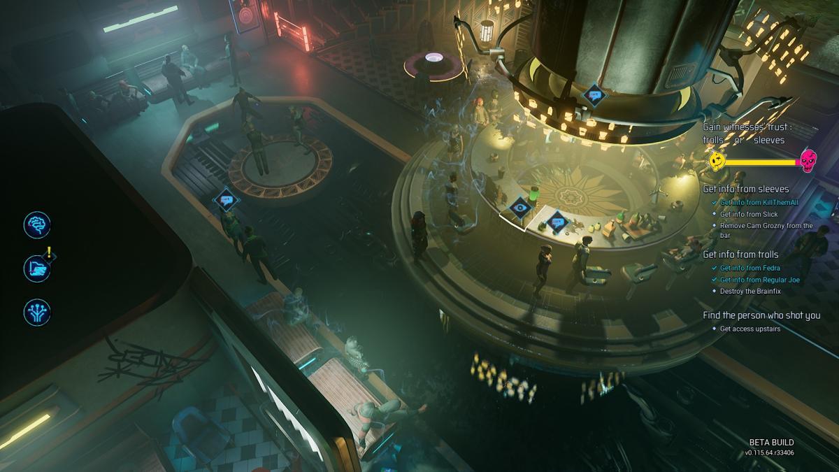 В баре, вроде бы, много людей, но все NPC имеют по две анимации / скриншот