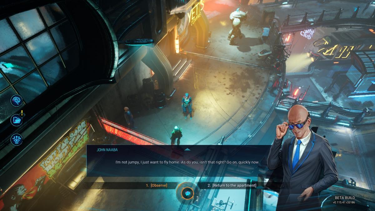 Персонажи во время диалогов показаны статичными картинками / скриншот