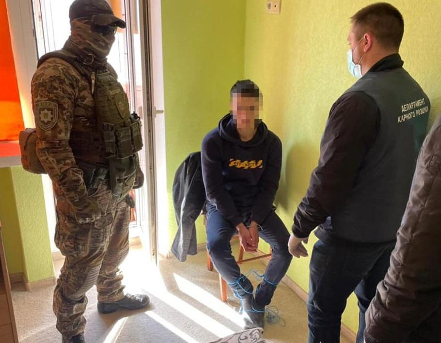 Полиция связала банду, которая держала в заложниках 20-летнего одессита / facebook.com/iklymenko.fb