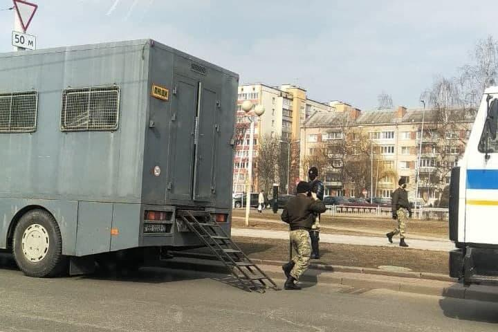 Протесты в Беларуси 27 марта - анонсировали крупнейшую акцию с начала года / t.me/nashaniva