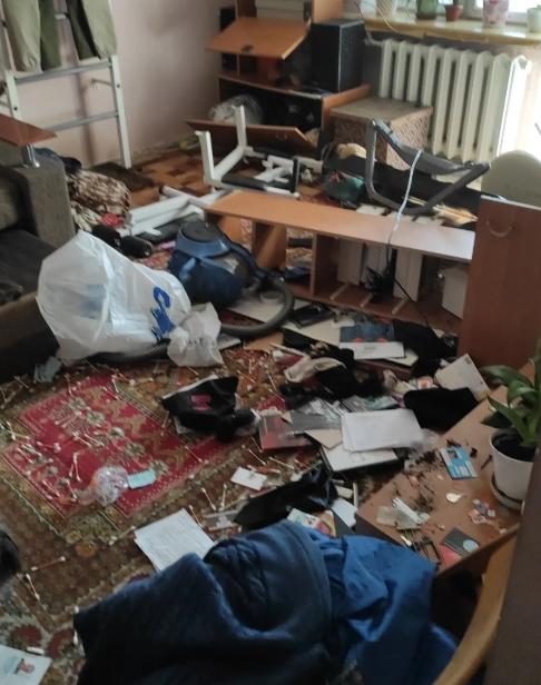 Photo from Mandych's apartment/ dialog.ua/ukraine