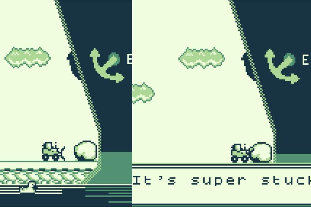 Так выглядит игра про попытки сдвинутьEver Given с мели /фото standard.co.uk