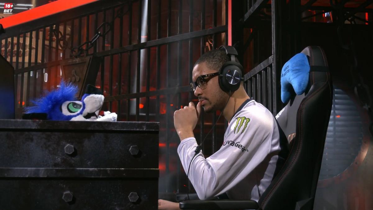 Домінік Маклін на київському турнірі з Mortal Kombat 11 / скріншот