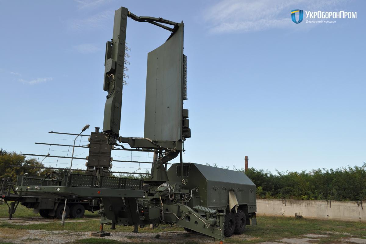 Радиолокационная станция 35Д6М может работать почти в любых климатических условиях / фото Укроборонпром