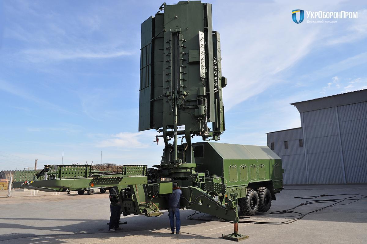 Модернизированная радиолокационная станция 35Д6М / фото Укроборонпром