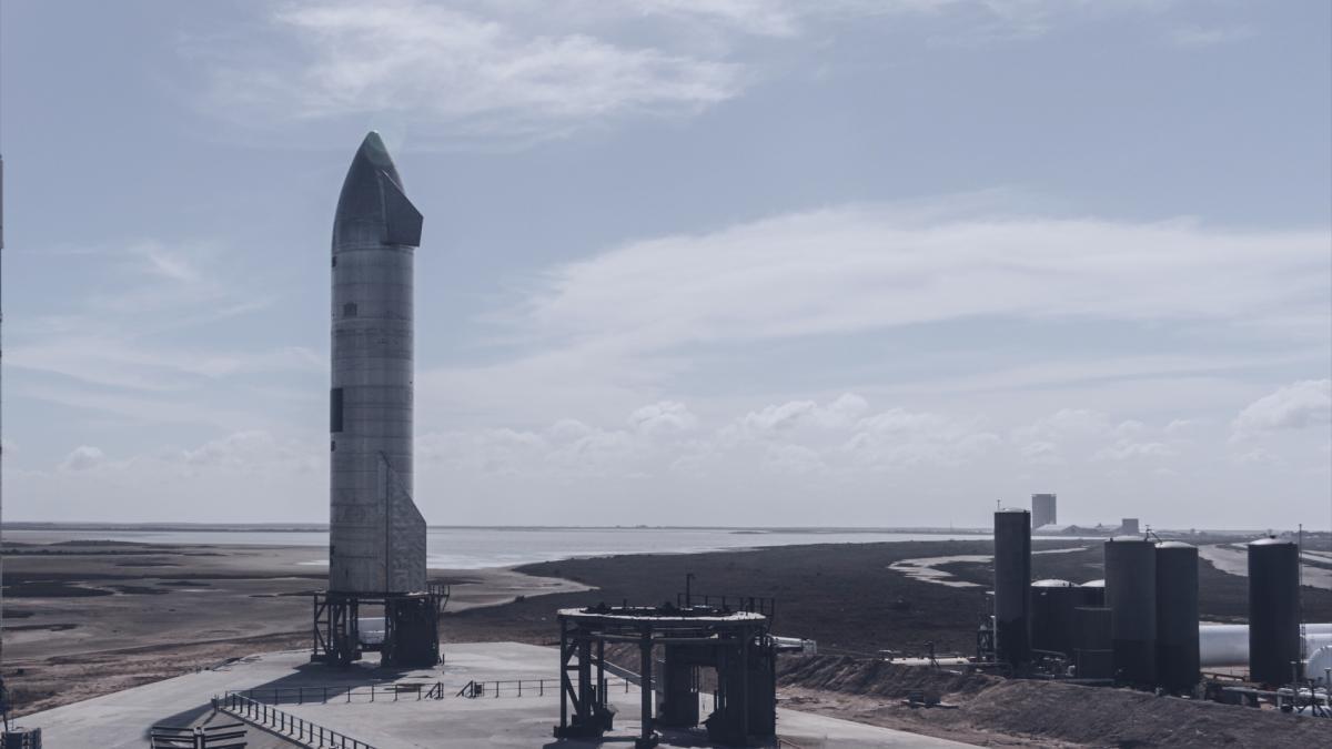 Очередные испытания прототипа Starship ожидаются 29 марта / фото Spacex