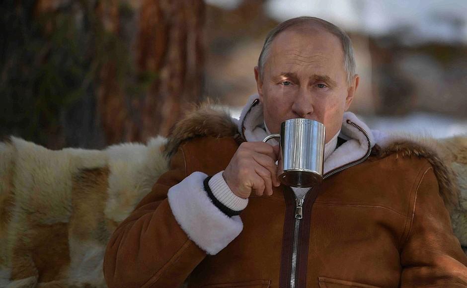 Путин сравнилУкраину с нацистской Германией /фото Kemlin.ru