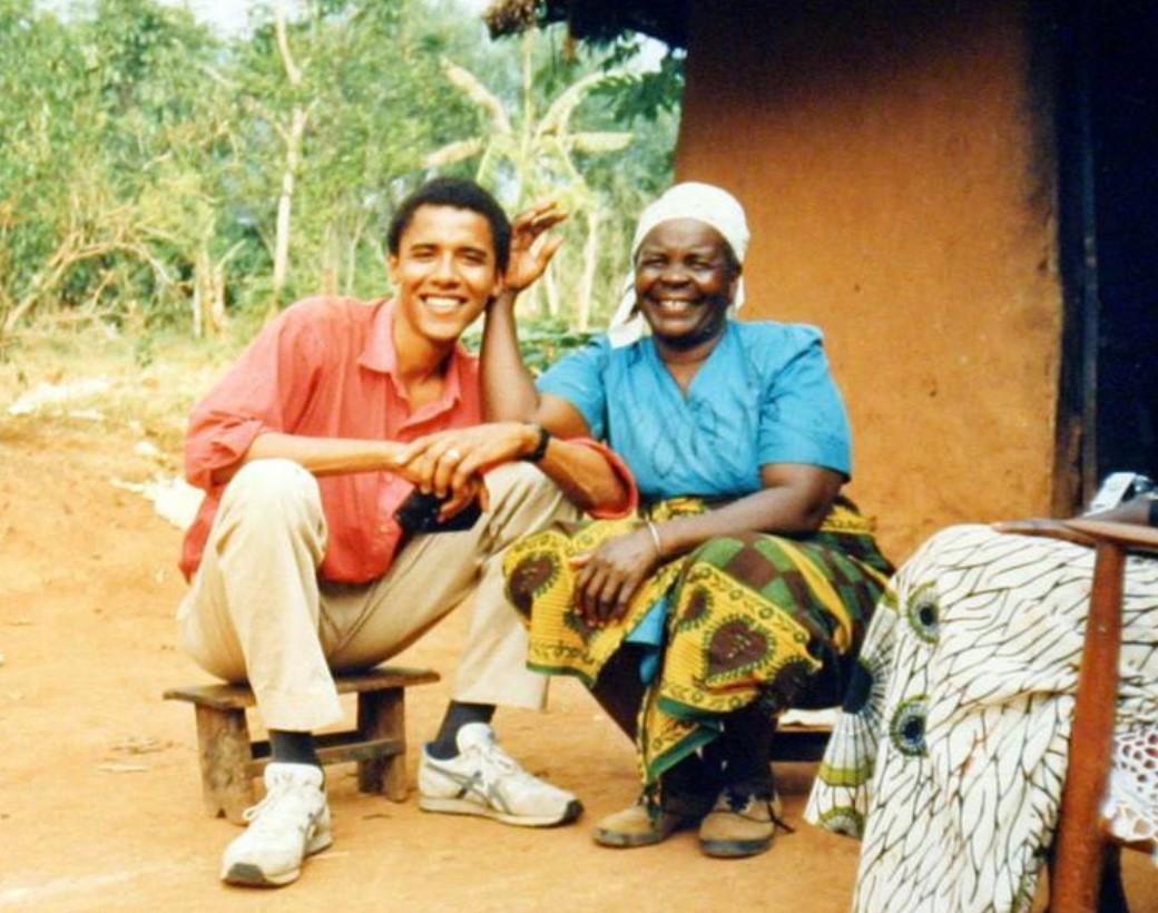Сара Обама родилась в 1922 году, она была третьей женой дедушки Барака Обамы / фото Барак Обама/Twitter