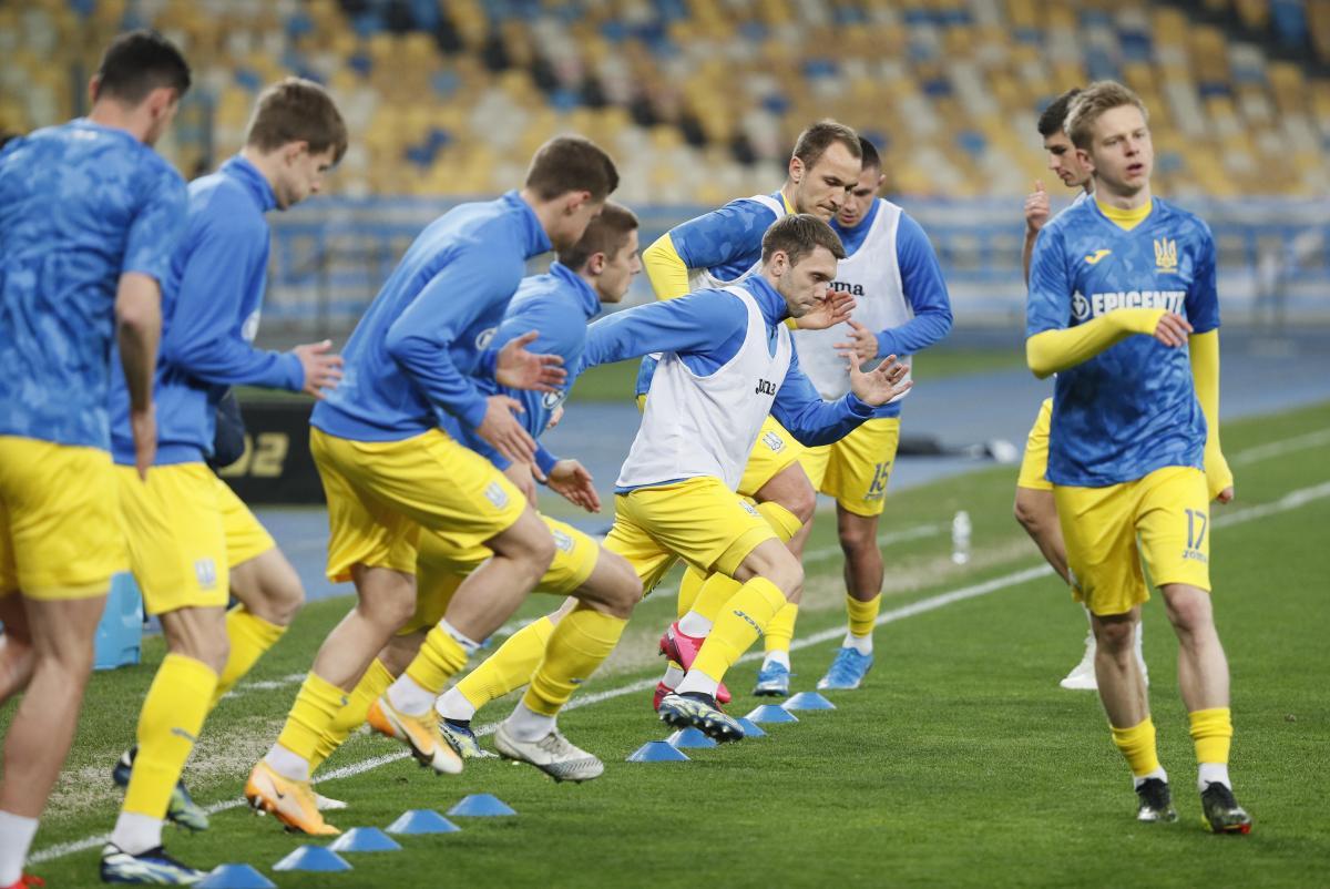 Сборной Украины нельзя недооценивать соперника / фото REUTERS