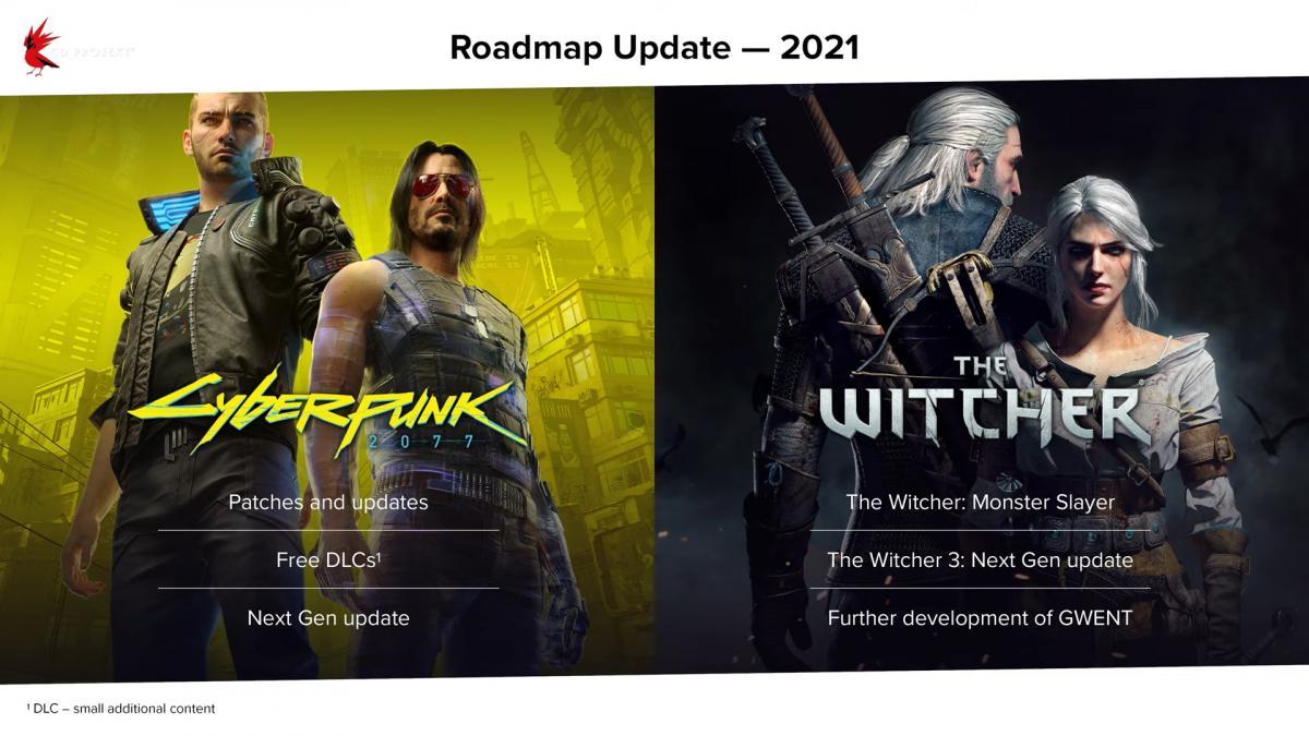 Дорожная карта для будущих обновлений игр компании /скриншот