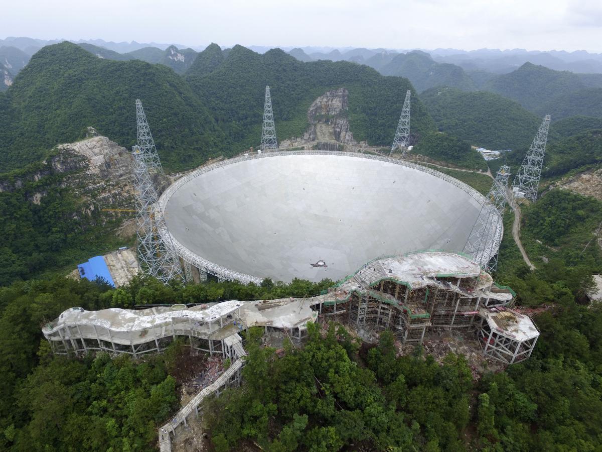 Китай откроет радиотелескоп FAST для ученых со всего мира / фото ua.depositphotos.com
