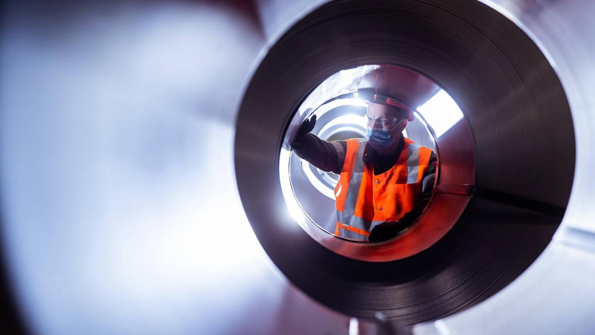 За 15 лет своей работы предприятия «Метинвеста» произвели более 142 миллионов тонн стали / фото Метинвеста