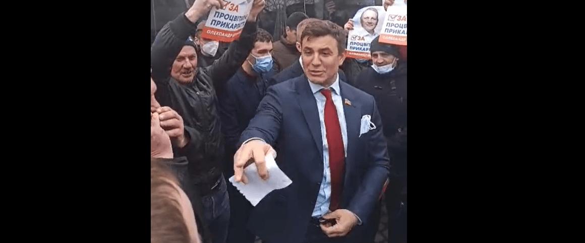Тищенко на Прикарпатье /galka.if.ua
