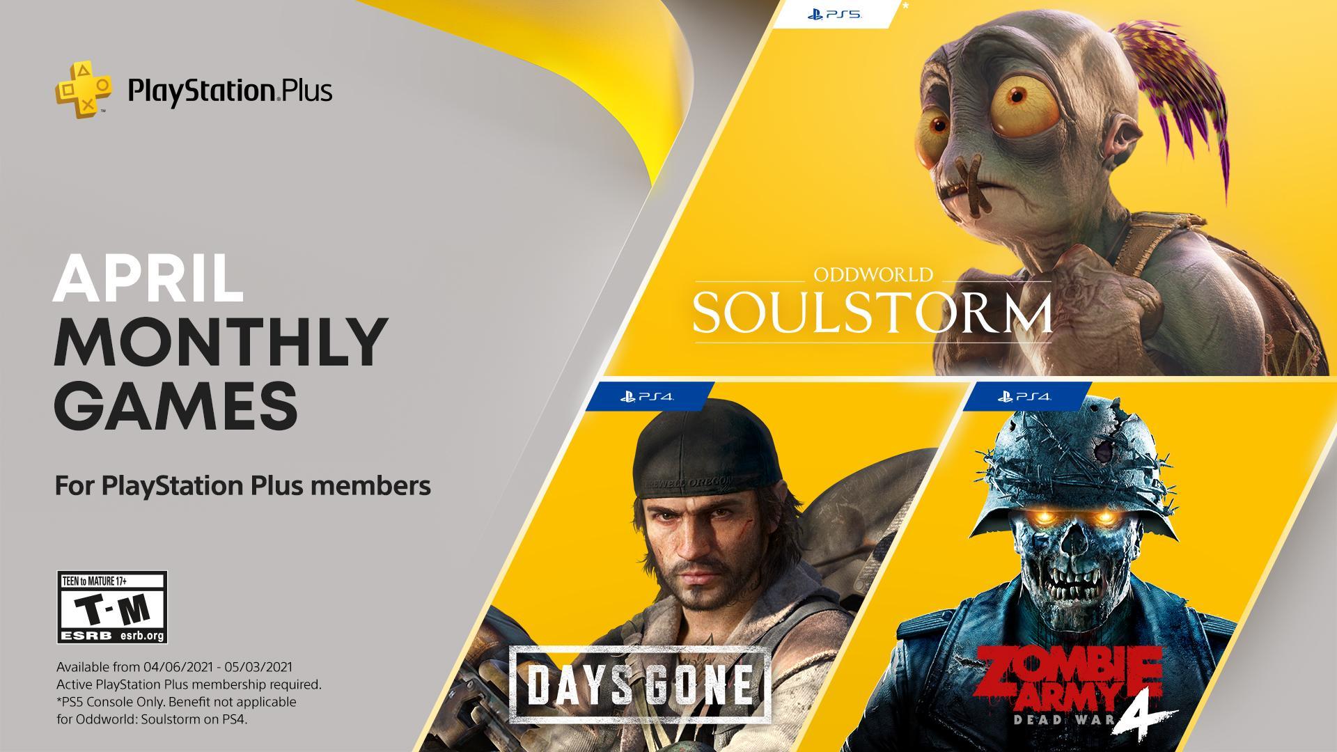 Бесплатные игры для подписчиков PS Plus / фото twitter.com/PlayStation