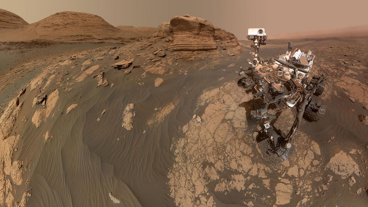 Curiosity зробив вражаючий знімок на Марсі / NASA