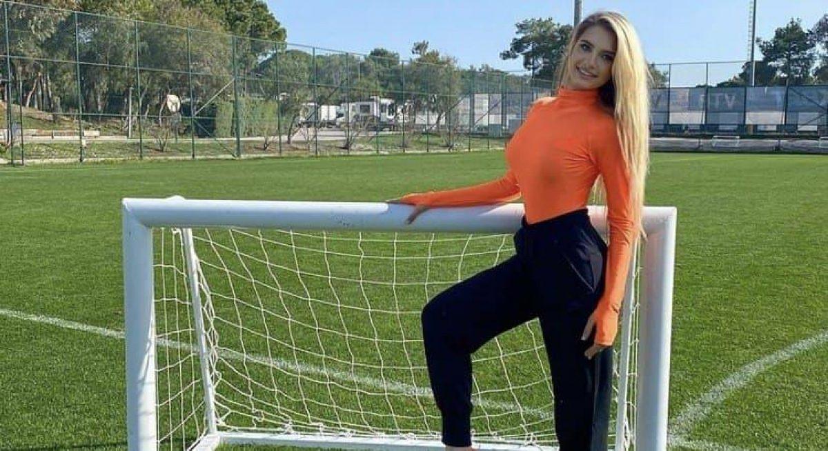 Ольга Каленчук — сексапильная телеведущая Шахтера увеличила свою