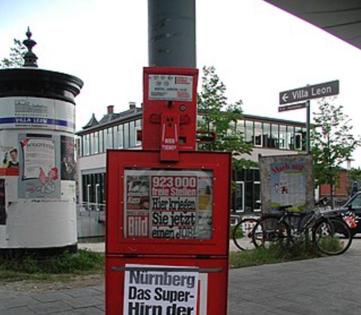 Шеф-редактора газеты Bild отстранили от работы из-за обвинений со