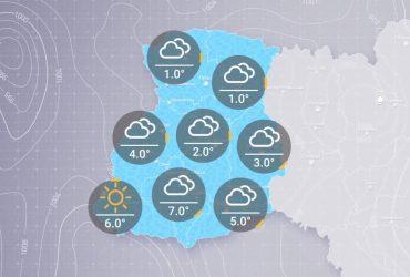 Прогноз погоди в Україні на ранок середи, 3 березня