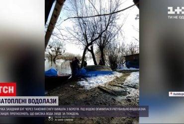 Новини України: у Львівській області річка Західний Буг вийшла з берегів