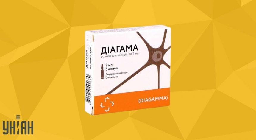 Диагама фото упаковки