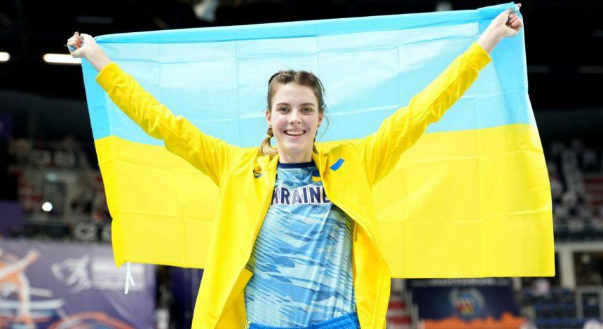 Золото и серебро: украинки стали лучшими на чемпионате Европы в прыжках в высоту