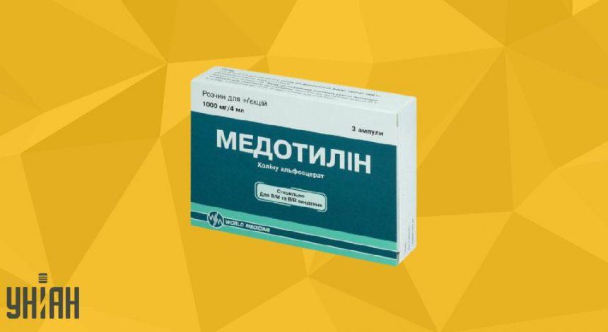 Медотилин фото упаковки