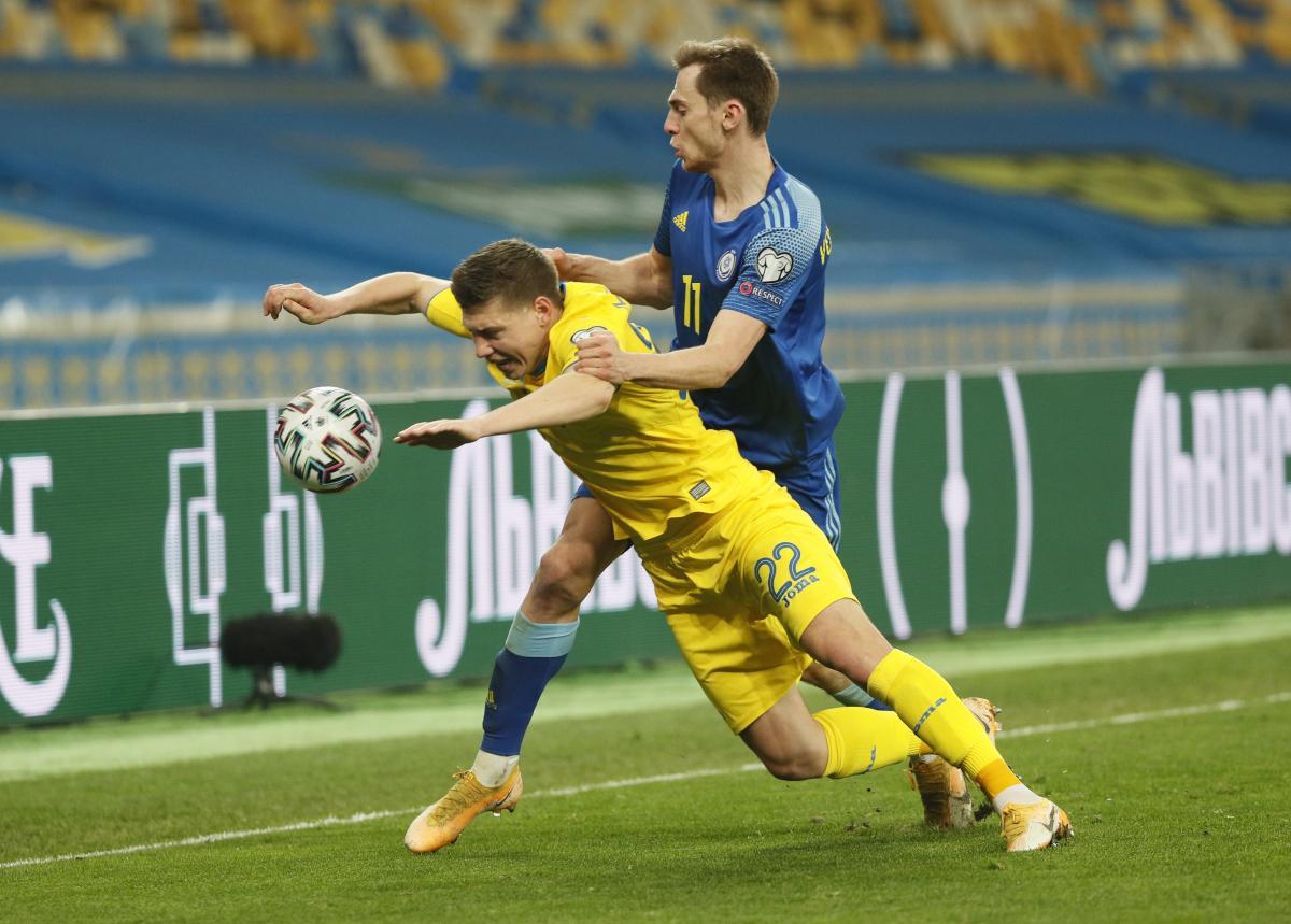 Николай Матвиенко сыграл все три матча в отборе / фото REUTERS