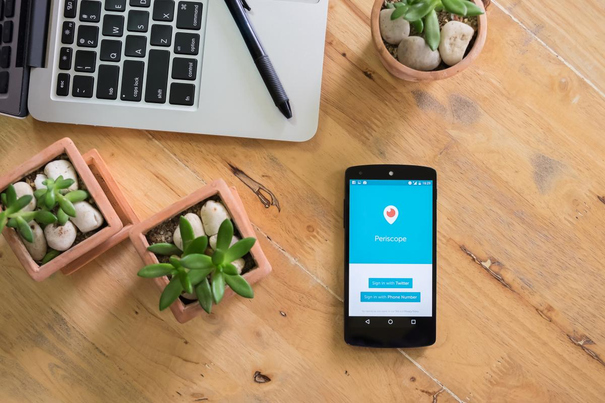 О планах Twitterзакрыть Periscope стало известно в декабре 2020 года / фото ua.depositphotos.com