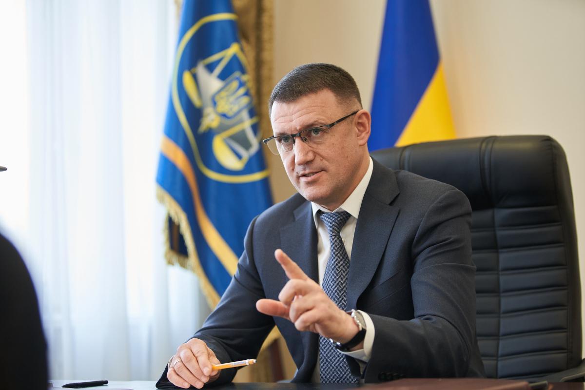 Голова ДФС Вадим Мельник / фото kosatka.media
