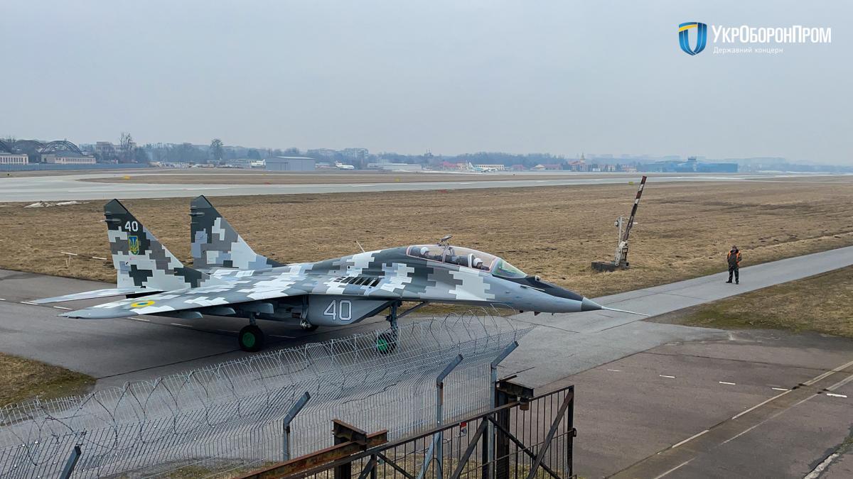Винищувач МіГ-29УБ / фото Укроборонпром