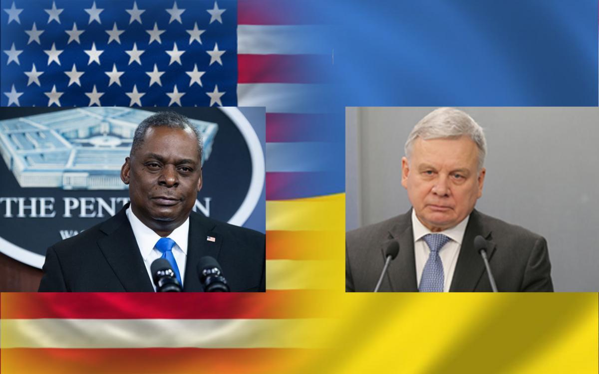 Руководители оборонных ведомств Украины и США обсудили усиление взаимодействия Украины и США / фото mil.gov.ua