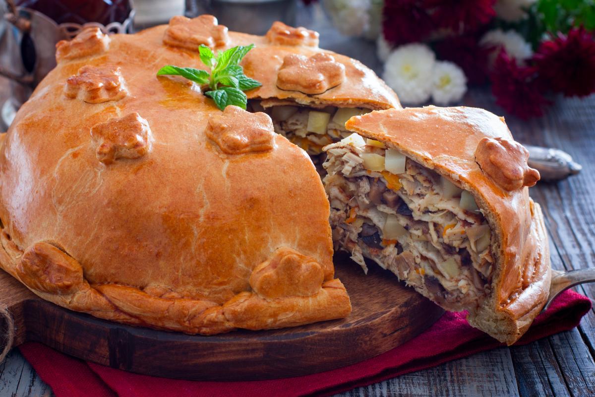 Рецепт пирога Курник / фото ua.depositphotos.com