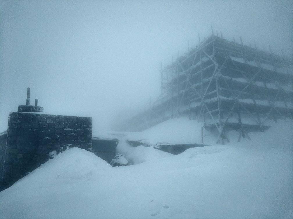 Сегодня в горах снова выпал снег / Фото facebook.com/chornogora.rescue112